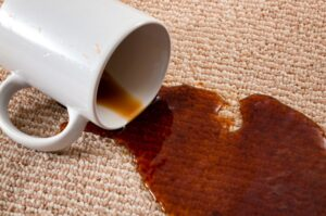 how to remove coffee stain