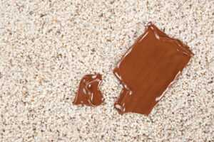 how to remove chocolate from a couch