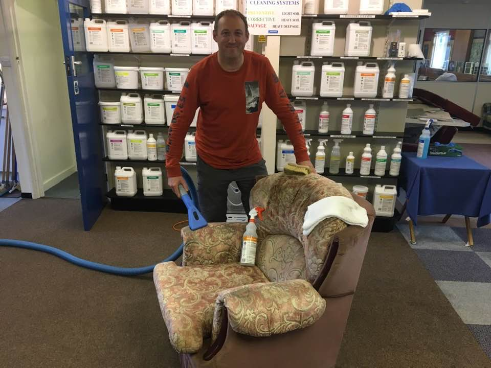 russell upholstery cleaning